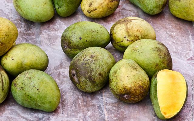 Как правильно выбрать и есть манго: 2 варианта с фото