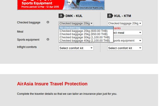 Инструкция, как купить билет на рейс airasia: провоз багажа и полезные советы