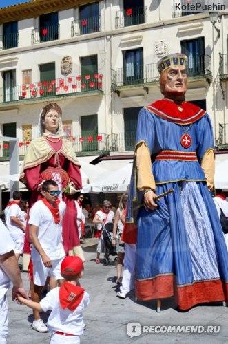 Испания. Праздник Гигантов в Олоте