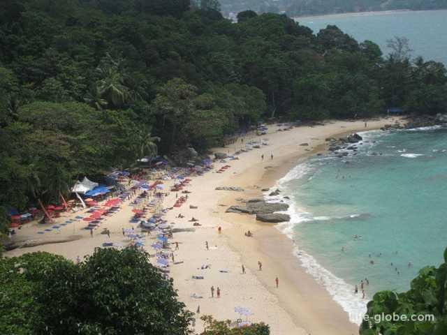 Тайланд. Скрытый пляж Пхукета: laem singh beach