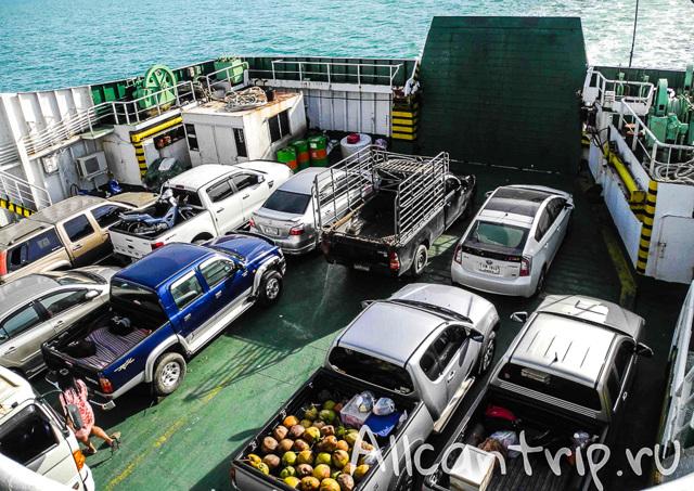 Как добраться до острова Панган